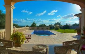 5 bedroom houses for sale in Majorca (Mallorca). Modern villa with a private garden, a pool and terraces, Marratxi, Spain