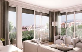 3 bedroom apartments for sale in Badalona. Apartment with a terrace in a new residential complex with a pool, near the beach, Badalona, Barcelona, Spain