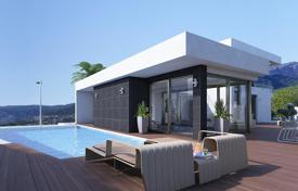 New homes for sale in Calpe. Villa in the residential village Colina del Sol