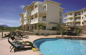 Residential for sale in Caribbean islands. Nice apartment near the beach in the bay coral Frigate Bay