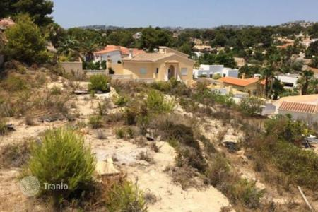 Cheap residential for sale in Moraira. Parcela of 0 bedrooms in Moraira