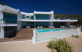 Luxury 5 bedroom villas and houses to rent in Spain. Furnished villa with a pool and a sea view, Ibiza, Balearic Islands, Spain