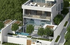Property for sale in UAE. Modern villa with pool, garden and sea views in a new residential complex, in the area of Palm Jumeirah, Dubai