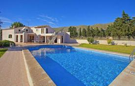 4 bedroom houses for sale in Pollença. Villa with fruit garden and swimming pool near the beach in Pollensa, Mallorca, Balearic Islands, Spain