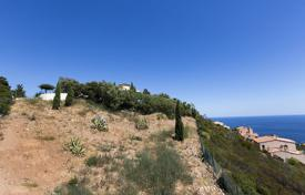 Development land for sale in France. Plot with a building permit and a sea view, Agay, France