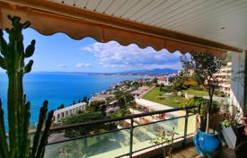 1 bedroom apartments for sale in Nice. Furnished apartment with a spacious terrace, in a prestigious residential complex with a swimming pool and a garden, Nice, France