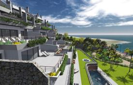 New homes for sale in Andalusia. New built modern apartment beachfront in Estepona