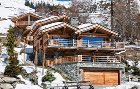 Luxury 4 bedroom houses for sale in Central Europe. Chalet in the ski resort Verbier, Switzerland