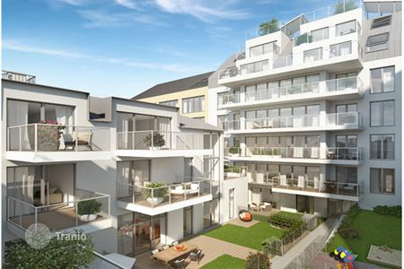 New homes for sale in Vienna. New one-bedroom apartment with views of the Danube River in Kaisermuhlen area, Vienna