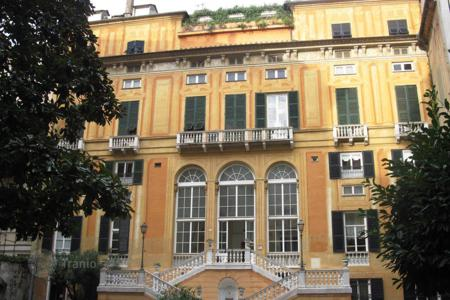 Luxury apartments for sale in Liguria. Luxury apartment in a historic building of the XVI century in Genoa