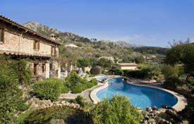 Luxury residential for sale in Andratx. Rustic style villa with garden, swimming pool, guest house and chapel in Sa Coma Freda, Andratx, Mallorca, Balearic Islands, Spain