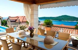 Unique villa with a swimming pool, a gym and a picturesque sea and city view, Dubrovnik, Croatia. High rental potential!. Price on request
