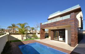 3 bedroom houses for sale in Murcia. Detached Villas 550 meters from the beach in Lo Pagan