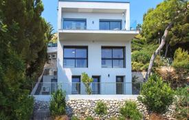 3 bedroom houses for sale in Èze. Modern three-storey villa with an indoor pool, terraces and a garden, close to the beach and Monaco, Eze, France