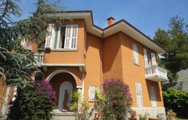 Historic villa with garden and panoramic sea view in Ospedaletti, Liguria, Italy for 3,500,000 €