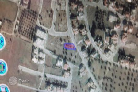 Cheap land for sale in Nicosia. 568m² Residential Plot in Lakatamia