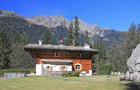 Luxury 5 bedroom houses for sale in Alps. Three-storey chalet with a gym and a sauna, in a prestigious area, 15 minutes walk from the center of Chamonix, Alpes, France