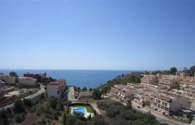 Duplex penthouse with terraces and a parking in a residential complex with a swimming pool, Calpe, Spain for 370,000 €