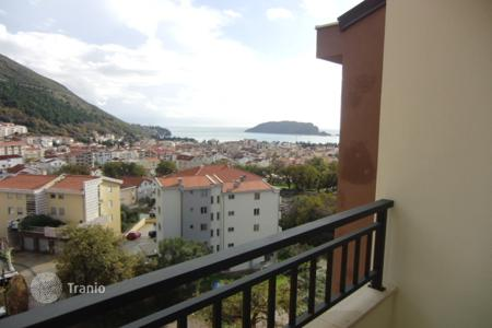 1 bedroom apartments for sale in Budva. Apartment with a balcony, in a new building, in a quiet district, near the sea and the grove, Budva, Montenegro