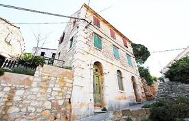 4 bedroom houses for sale in Split-Dalmatia County. Authentic villa with a private garden, a terrace and a sea view, Brac, Croatia