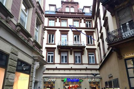 Residential for sale in Baden-Wurttemberg. Spacious 3-bedroom apartment on one of the central streets of Baden-Baden, Germany. Possible high rental income!