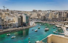 Residential for sale in Malta. Fully furnished seafront penthouse in St Julians