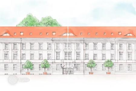New homes for sale in Brandenburg. One-bedroom apartments in the historic center of Potsdam