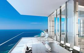 Two-level designer apartment in a high-rise residence with a fitness center, a spa, restaurants and lounges, Sunny Isles Beach, USA for 17,500,000 $
