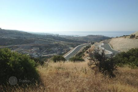 Development land for sale in Limassol. Large Plot with Building Permit READY — Agios Tychonas Limassol