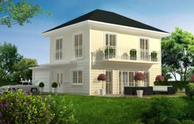 Off-plan residential for sale in Bavaria. Modern house with a terrace and a spacious plot, Munich, Bavaria, Germany