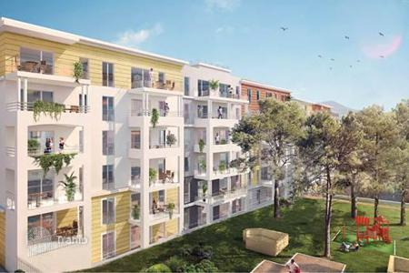 Residential for sale in Toulon. Two-bedroom apartment in a newly built residenc in Toulon
