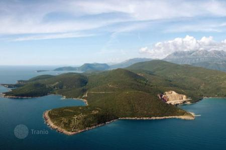 Coastal land for sale in Tivat. Huge piece of land on the Adriatic coast, Montenegro, Lustica peninsula