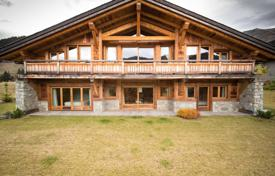 Luxury houses for sale in Haute-Savoie. Two cottages in a picturesque district of the city, Megeve, France