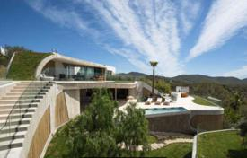 Residential to rent in Es Cubells. Elite villa on a hill with sea views, near the beach, Vista Alegre, Ibiza, Spain