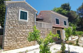 Villa on the first line from the sea, with a private garden, a parking, terraces and sea views, Splitska, Croatia for 590,000 €