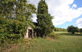 Development land for sale in Slovenia. This vast estate with big potential offers plenty of privacy