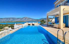 5 bedroom houses by the sea for sale in Greece. Villa – Porto Cheli, Administration of the Peloponnese, Western Greece and the Ionian Islands, Greece