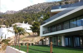 Luxury houses with pools for sale in Costa Blanca. Ultramodern, designer villa with a pool in Altea, Alicante, Spain