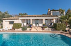 4 bedroom houses for sale in Chateauneuf-Grasse. Cannes backcountry — Breathtaking views over Riviera
