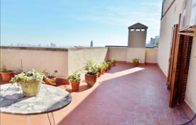 Penthouses for sale in Barcelona. Penthouse with two large terraces with views of the city and the sea in the Gracia district of Barcelona, Spain