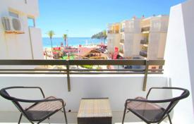 1 bedroom apartments for sale in Magaluf. Cozy apartment with a terrace and a sea view in a residential complex with a garden and a parking, Magaluf, Spain