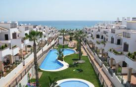 "Chalets for sale in Costa Blanca. Torrevieja, La Mata ""Azul Beach II"". Spectacular Bungalow- Duplex of 92 m² with solarium of 50 m²"