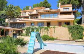 Spacious villa with a pool, terraces, a garage, saunas and two separate apartments, Son Vida, Spain for 3,635,000 $