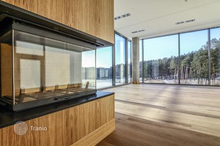 Residential for sale in Latvia. One-room apartment with a large terrace, in a modern residential complex with the pool, in Adazi, a suburb of Riga