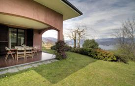 5 bedroom houses for sale in Southern Europe. Terraced villa with a big garden and views of Lake Maggiore, on a hill, 1 km from the center of Stresa, Italy