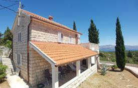 Property for sale in Split-Dalmatia County. Cozy villa with a private garden, a parking, terraces and a sea view, Brac, Croatia