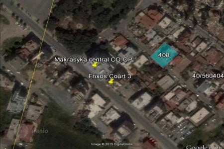 Cheap development land for sale in Larnaca (city). Half Building Plot