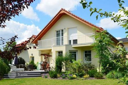 Residential for sale in the Czech Republic. Modern house with garden house and garage in Prague