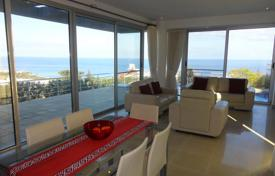 Coastal houses for sale in Northern Cyprus. Three-bedroom villa with infinity pool and sea and mountain views