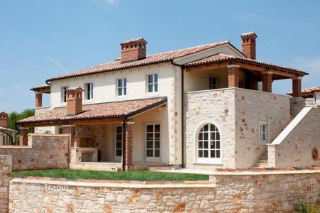 Coastal houses for sale in Porec. House POREČ Duplex stone house in Vabriga — for sale